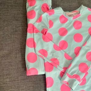 Pink & Blue Polkadot pyjama set